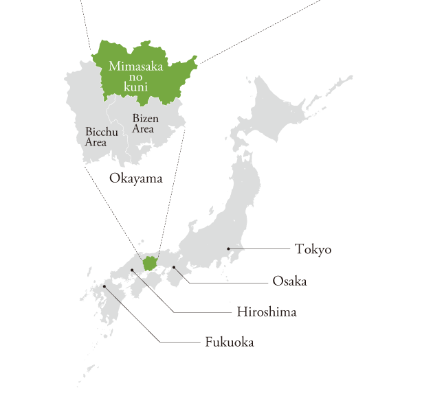 美作国MAP詳細