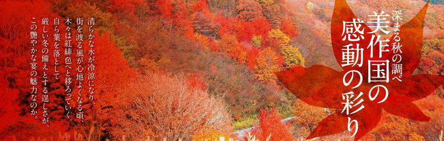 深まる秋の調べ 美作国の感動の彩り
