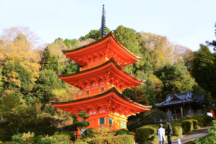 長福寺三重塔
