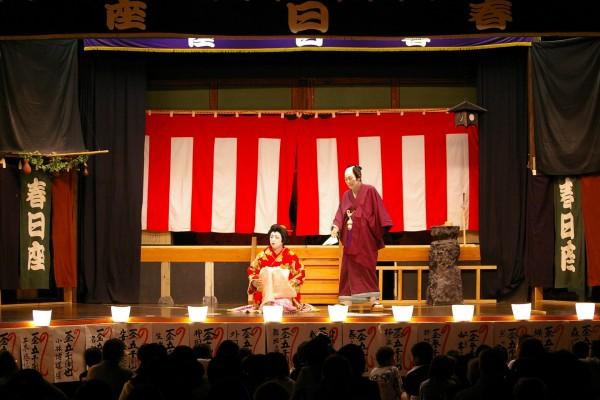 粟井春日歌舞伎