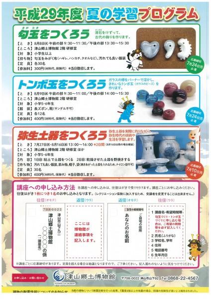 郷土博物館 夏の学習プログラム