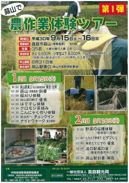 農作業体験ツアー①