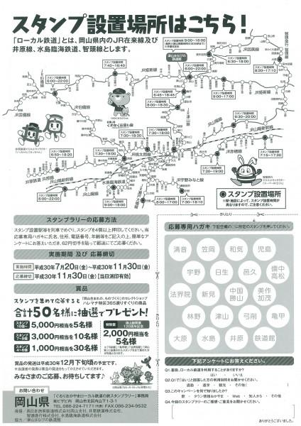 ローカル鉄道の旅スタンプラリー②