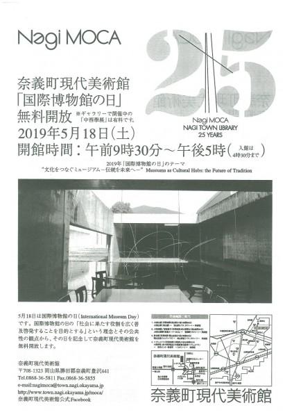 国際博物館の日無料開放